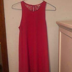 Coral pink short dress